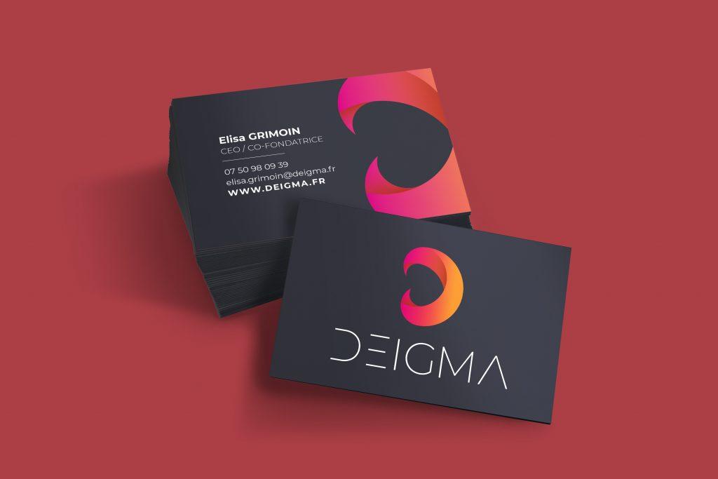 Cartes de visite de Deigma
