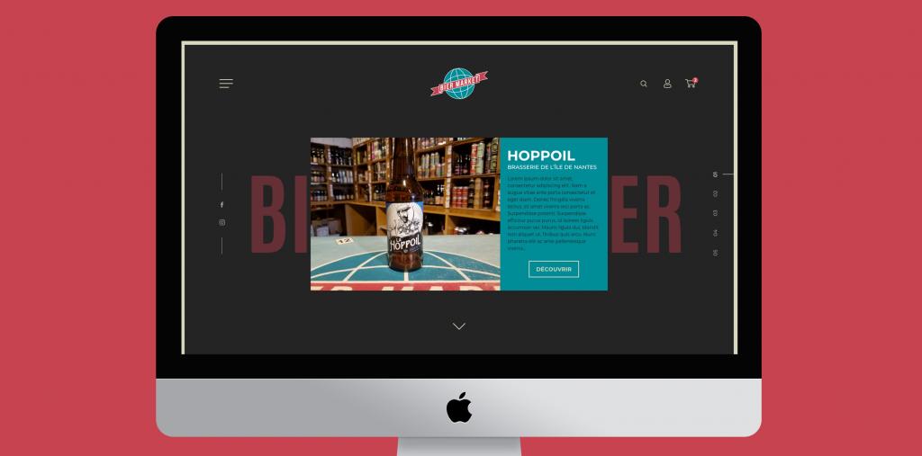Site du Bier Market