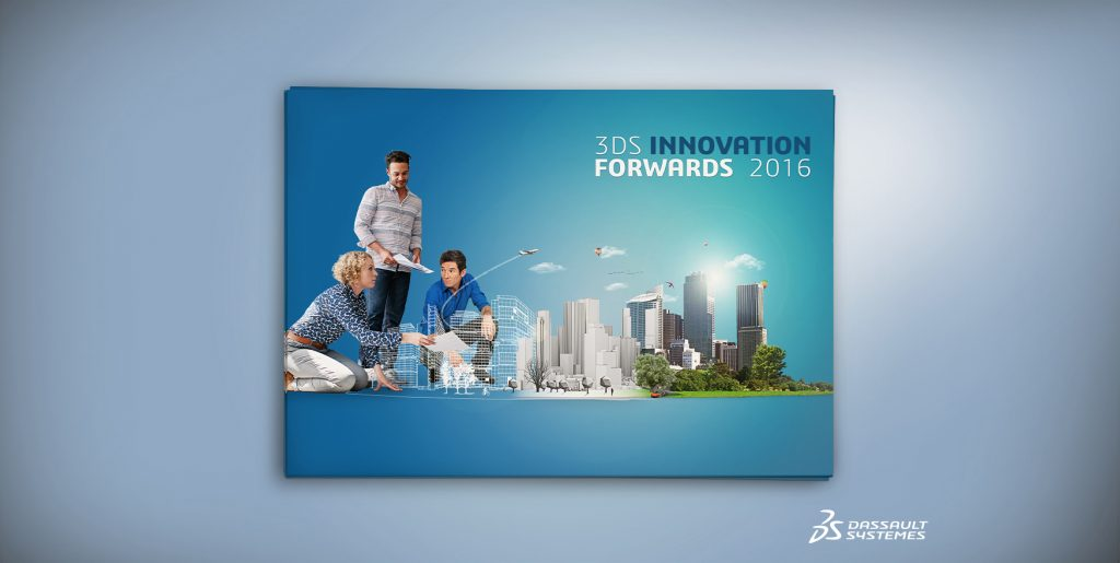 Visuel 3DS Innovation Forwards Dassault Systeme